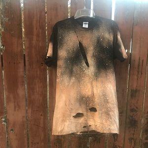 Vintage bleached shirt